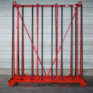 Big Bull A200 Glas-Transportgestell Vorderansicht