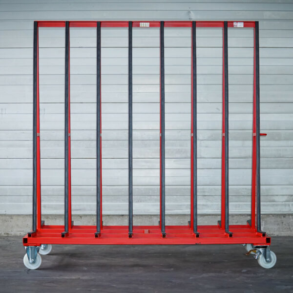 Big Runner R200 für Transport von Flachglas Vorderansicht