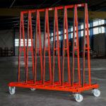 Big Runner R200 für Transport von Flachglas Schrägansicht