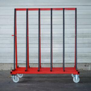 Middle Runner A120 für Glas-Transport Vorderansicht