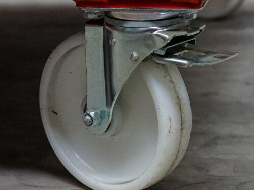 Steering Wheel with Brake for Harp Racks