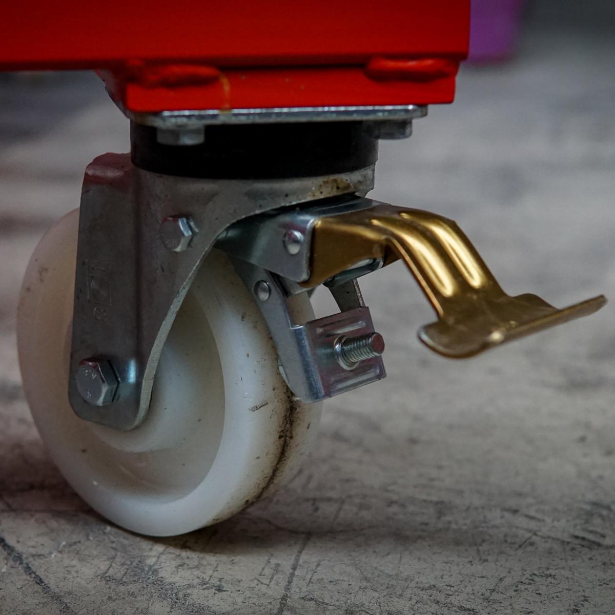 wheel harp rack steering